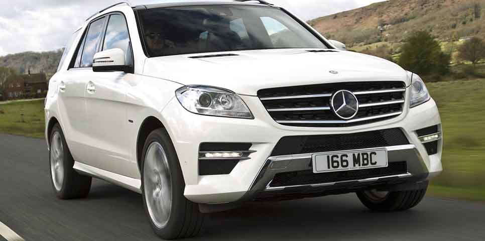 Mercedes benz m class india price review images for Mercedes benz ml price