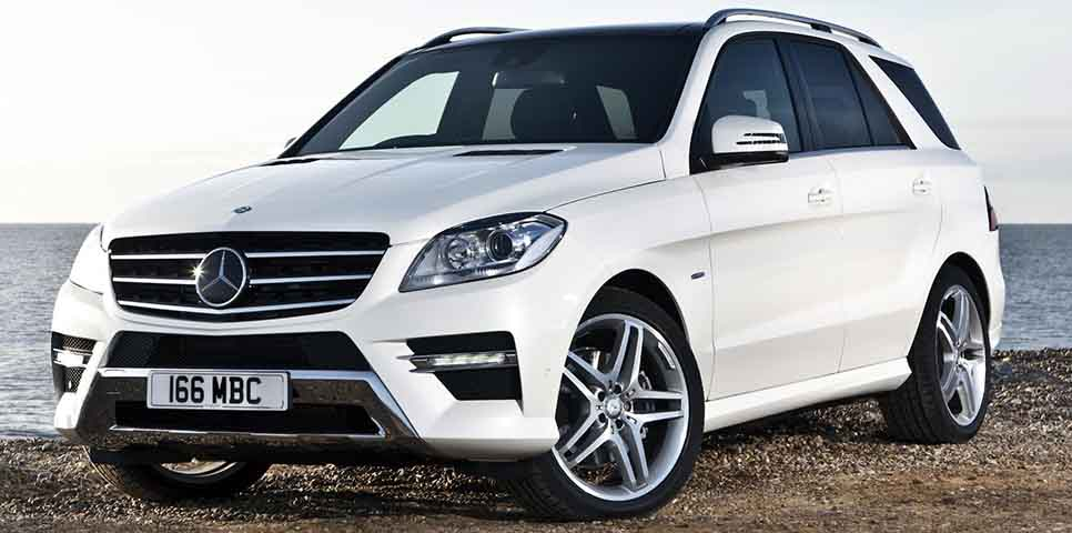 Mercedes benz m class india price review images for Mercedes benz ml class 350 cdi price in india