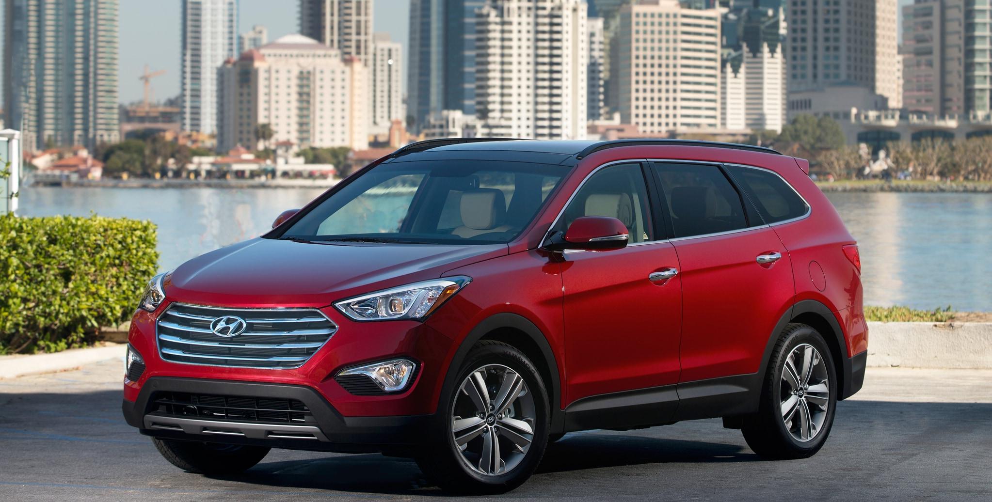 Hyundai Santa Fe India, Price, Review, Images - Hyundai Cars