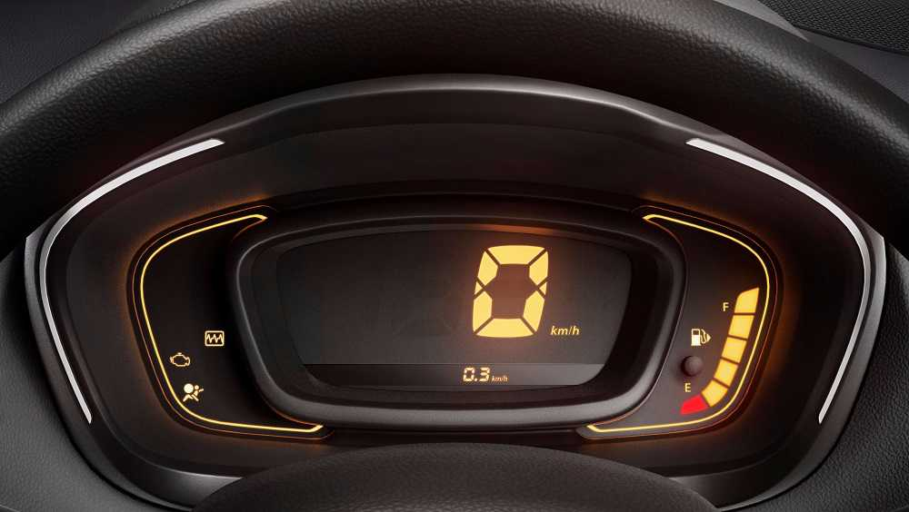 Renault Kwid Digital instrument panel