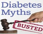Common myths about diabetes