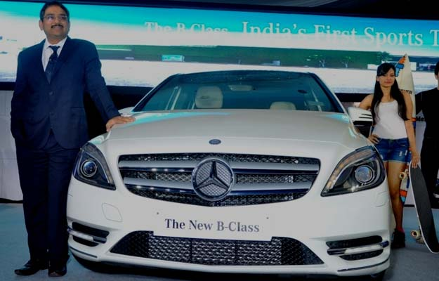 Mercedes launches Sports Tourer B-Class at Rs 21.49 lakh