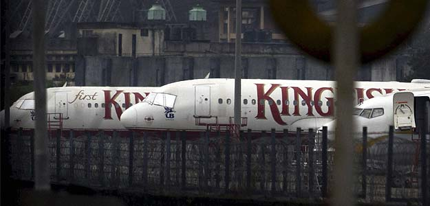 Kingfisher shares fall on third quarter loss of Rs 755 crore