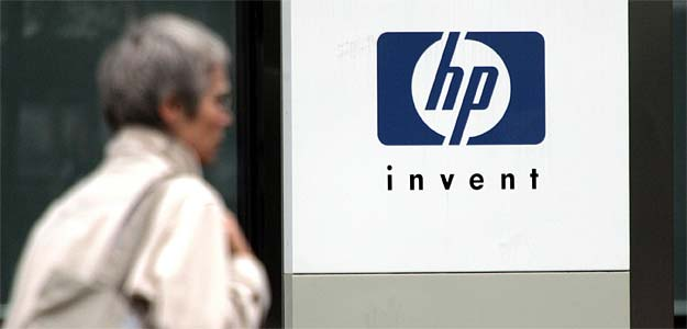 Hewlett-Packard says victim of accounting fraud, shares sink 11%