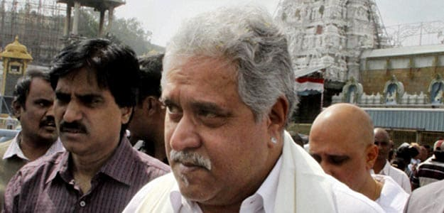 Vijay Mallya donates 3 kg gold at Tirumala