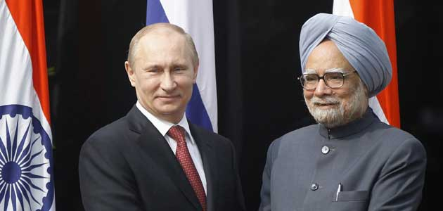 India, Russia sign defence deals worth Rs 22,000 crore