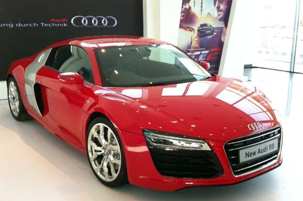 Audi Launches R V Plus For Rs Crore NDTV Profit - Audi car r8 price in india