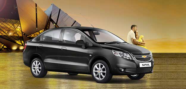 General Motors launches Sail sedan at Rs 4.99 lakh