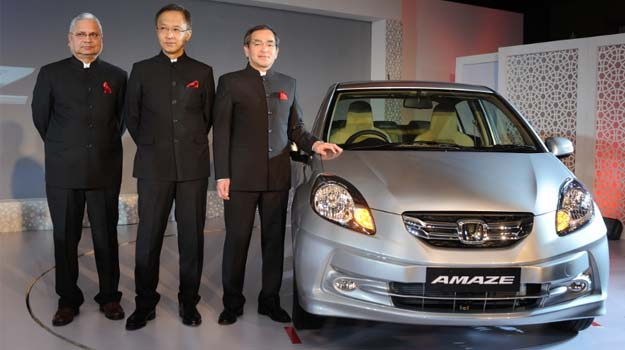 Honda Amaze launched at Rs 4.99 lakh, diesel variant to cost Rs. 5.99 lakh