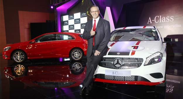 Mercedes-Benz A Class launched at Rs 22 lakh