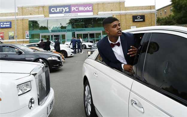 Exotic cars are hot wheels for teens in deprived London borough