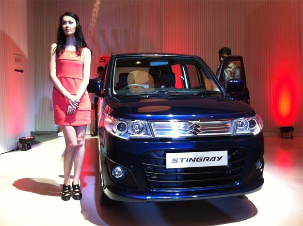 Maruti Stingray launched at Rs 4.10 lakh