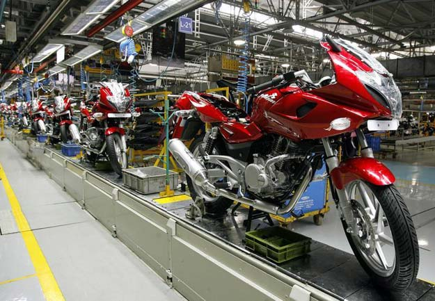 Bajaj Auto Motorcycle Sales Fall 5.5% in December