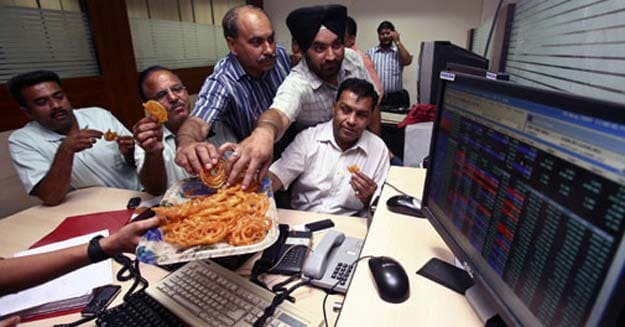 Sensex hits all-time high, Nifty closes above 6300