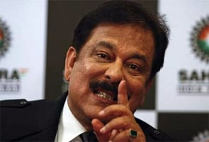 File photo of Sahara chief Subrata Roy