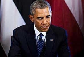 Bhaarat Ki Nai Sarkaar Ke Saath Kaam Karne Ke Liye Utsuk Barack Obama