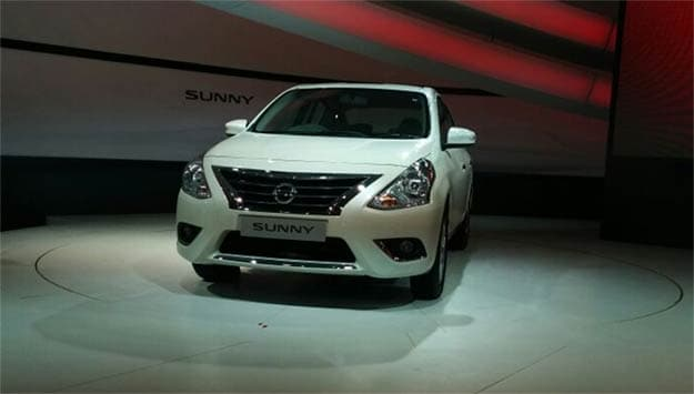 Auto Expo 2014: Nissan Sunny facelift unveiled