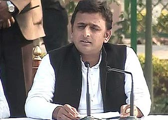 Narendra Modi Ka Seena Naheen, Pet Hai 56 Inch Ka  Akhilesh Yadav
