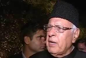 Narendra Modi Ko Vote Dene Vaalon Ko Samudra Mein Doob Jaana Chaahiye  Faruk Abdulla