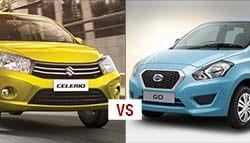 Datsun Go vs Maruti Celerio- A quick comparison