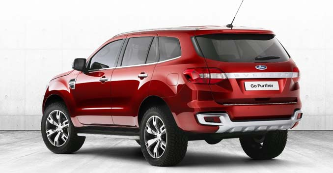 New Generation Ford Endeavour Ford Everest 2015 Ford Endeavour Ford