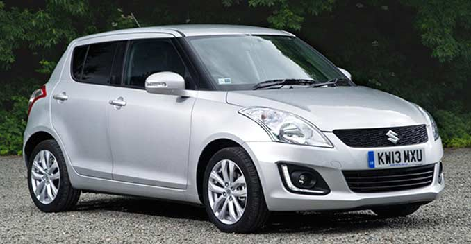 2014 Maruti Swift facelift