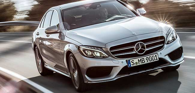 Comparison: 2015 Mercedes-Benz C-Class vs BMW 3-series vs Audi A4