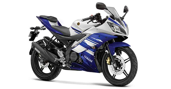 Yamaha R15 Bike Black