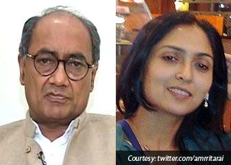 Digvijya Singh Ne Kabool Kiya Mahila TV Enkar Se Rishta