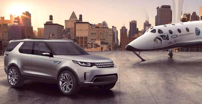 A new age of Discovery for Land Rover