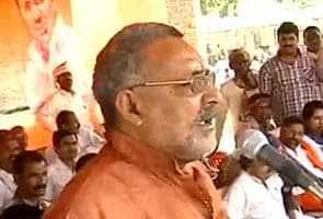 Bhadkaaoo Bhaashan Dene Ke Maamale Mein BJP Neta Giriraaj Singh Ko Agrim Jamaanat