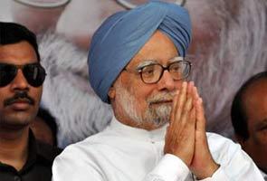 Pradhaanamantri Manmohan Singh Raashtra Ko Sambodhit Karne Ke Baad Raashtrapati Ko Saunpeinge Isteefa