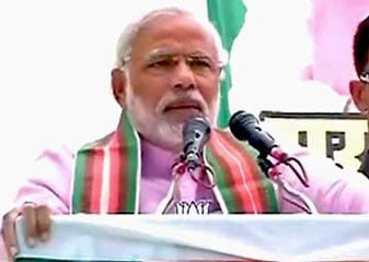 Vadodara Se Varanasi Pahunchane Par Narendra Modi Ki Sampatti 14 Lakh Rupaye Badhi