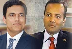 Sajjan Jindal (left) and Naveen Jindal (right)