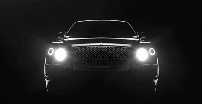 First Look at Bentley's Upcoming SUV