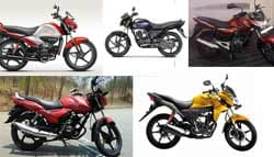 5 Top Bikes in the 100-110cc Segment
