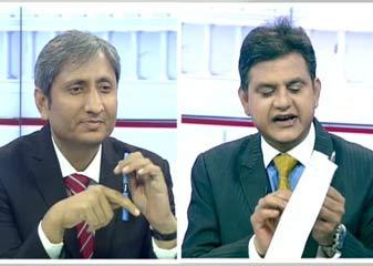 NDTV-hansa Research Ka Egjit Pol Sarve  BJP+ Ko 279, Congress+ Ko 103, Anya Ko 161 Seaton Ka Anumaan