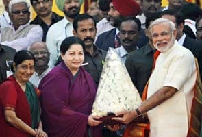 Jayalalita 3 June Ko Kareingi PM Narendra Modi Se Mulaakaat, Gathabandhan Mein Shaamil Hone Ki Atkalein
