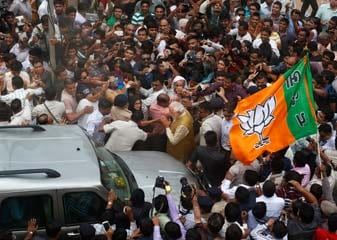Election results 2014: Historic victory for BJP, gets majority on its own