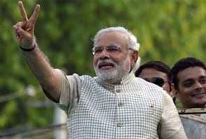 Narendra Modi Shapath Grahan  Tainaat Raheinge 6000 Surakshaakarmi