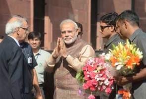 Gopeenaath Munde Ke Nidhan Ke Kaaran Sheersh Naukarashaahon Ke Saath PM Narendra Modi Ki Baithak Sthagit