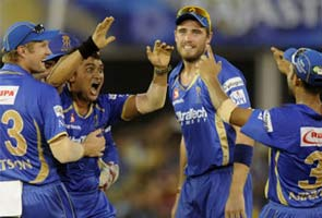 IPL-7  Romaanchak Mukaabale Mein Rajasthan Royals Ne Night Raairds Ko 10 Ranon Se Haraaya