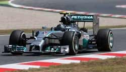 F1: Rosberg Sets the Pace in FP1 at the 2014 Russian Grand Prix