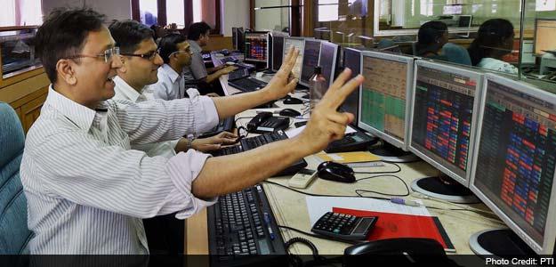 Sensex Hits Record High; Nifty Nears 7,650