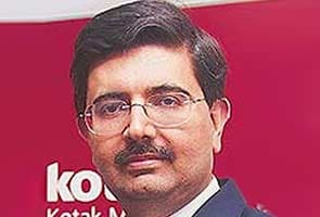 File photo of Kotak Mahindra Bank's Uday Kotak