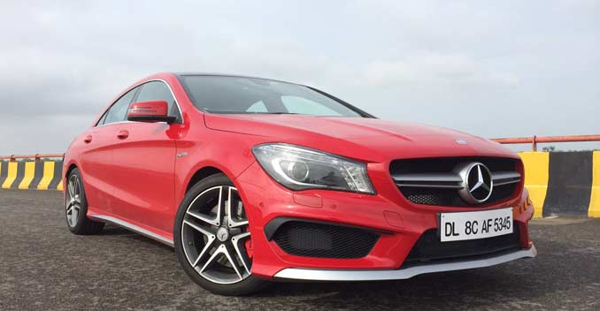 mercedes cla 45 amg manual transmission