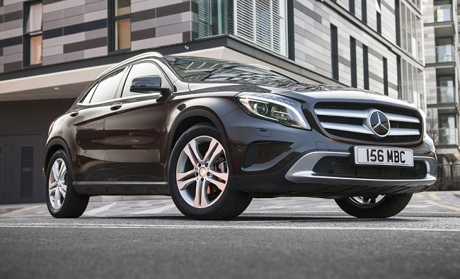Mercedes-Benz GLA Crossover's Bookings Open; Launch in October