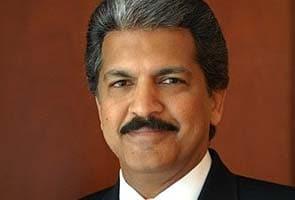 File photo of Mahindra Group's Anand Mahindra