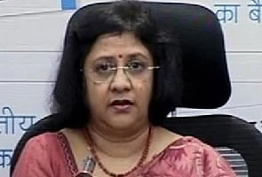 File photo of SBI's Arundhati Bhattacharya