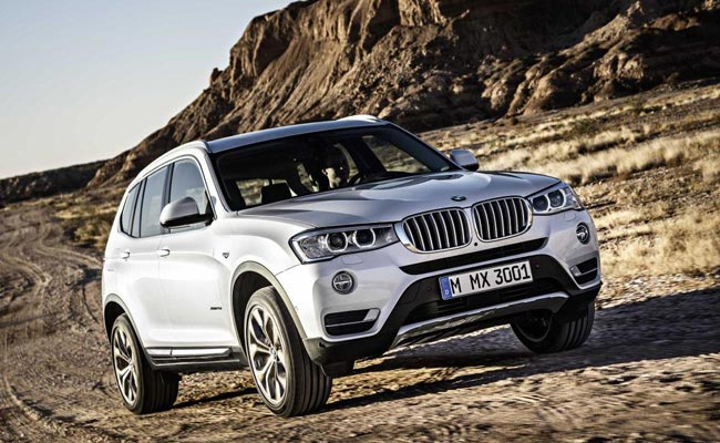 2014 bmw x3 facelift launching today in india ndtv carandbike. Black Bedroom Furniture Sets. Home Design Ideas